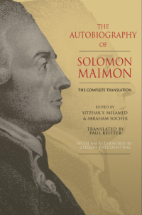 Book cover of The Autobiography of Solomon Maimon